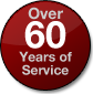 OVer 60 Years of Service